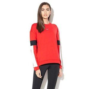 Nike Therma University Sweatshirt M Pullover Red